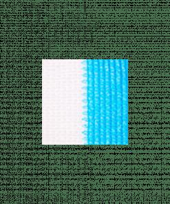 Malla RAschel azul - blanco 80%