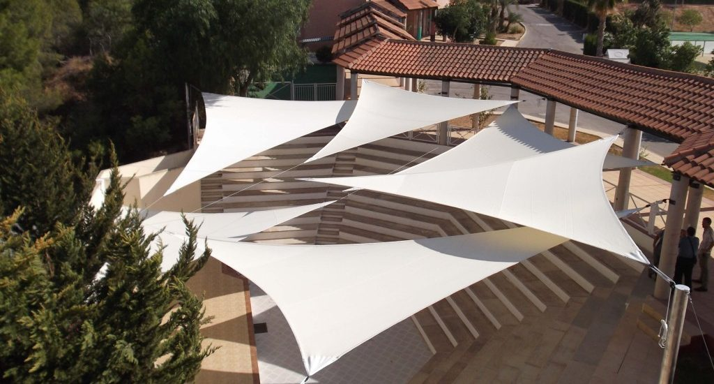 Velas sombradoras para sombra triangulares